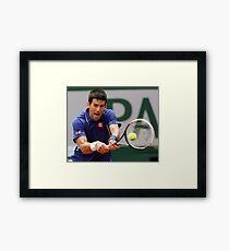 Novak Djokovic Framed Print
