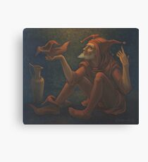 Confession Of The Jester Canvas Print