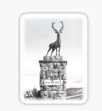 The Skyfall Stag Sticker