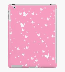 Butterfly Silhouette Pattern iPad Case/Skin