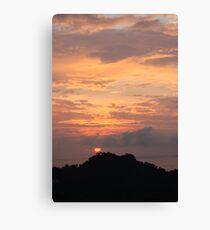 Sunset Manuel Antonio Costa Rica Canvas Print