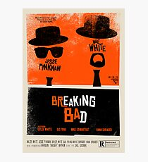 Breaking Blues: A Blues Brothers parody poster Photographic Print