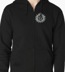 Supernatural protection Zipped Hoodie