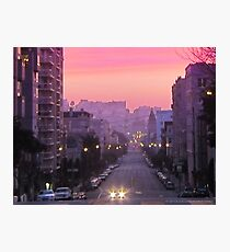 Broadway Sunrise Photographic Print