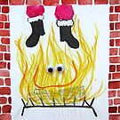 Down Through the Chimney with Good Saint Nick! by KateOberg