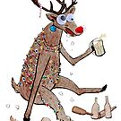 Rudolph the Red-Nosed Drunkard! by KateOberg