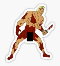 Move Like an Animal to Feel the Kill Sticker