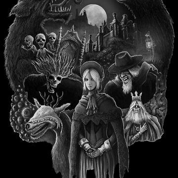 Bloodborne Skull by jflemay