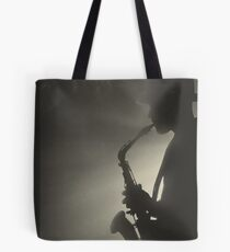 Saxaphone Player Saxophone very cool image Tote Bag