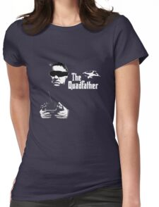 The QuadFather Womens Fitted T-Shirt