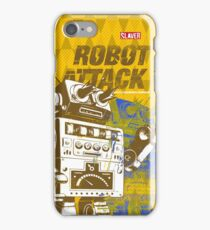 Robot Attack iPhone Case/Skin