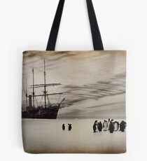 Nimrod and the Penguins Tote Bag