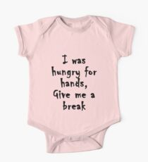 Hungry for Hands One Piece - Short Sleeve