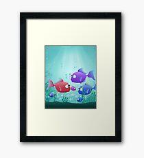 Under the Sea for Kids Framed Print