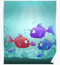 Under the Sea for Kids Poster