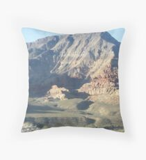magestic mountain Throw Pillow