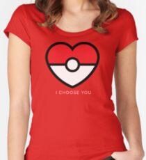 Pokéheart Women's Fitted Scoop T-Shirt