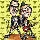 Ben Weasel & Joe Queer by JohnnyGolden