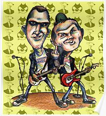 Ben Weasel & Joe Queer Poster