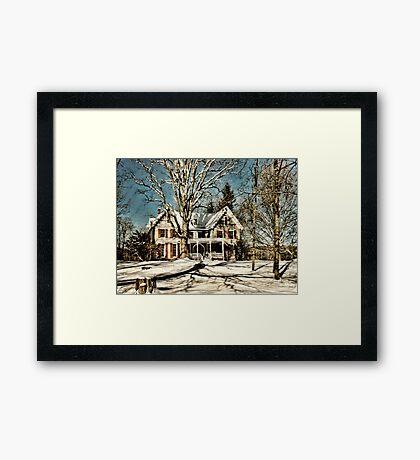 Manville Wakefield Home Framed Print