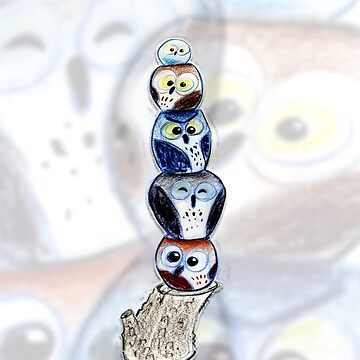 OWL TOTEM No1 by philipvallentin