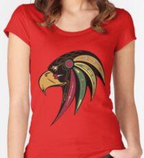 Chicago Blackhawks Alternate Women's Fitted Scoop T-Shirt