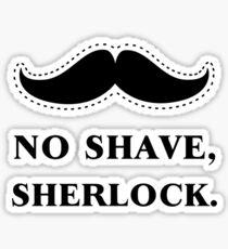 No Shave, Sherlock Sticker