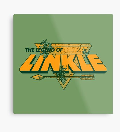 LEGEND OF LINKLE Metal Print