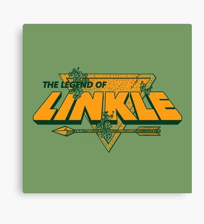 LEGEND OF LINKLE Canvas Print