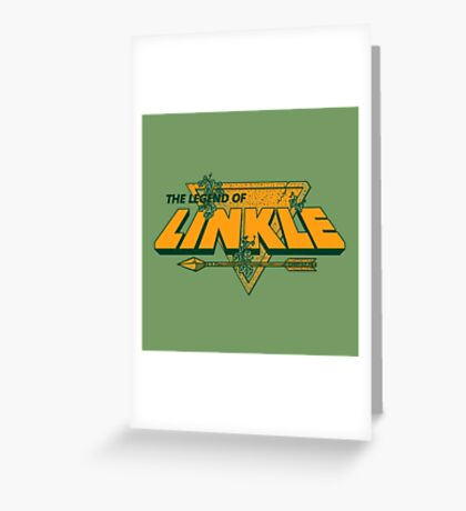 LEGEND OF LINKLE Greeting Card