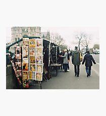 bouquinistes Photographic Print