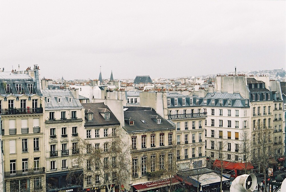 parisian rooftops by Tess Smith-Roberts