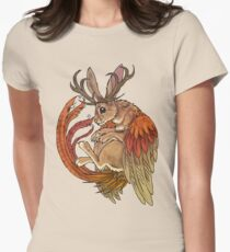 wolpertinger Womens Fitted T-Shirt