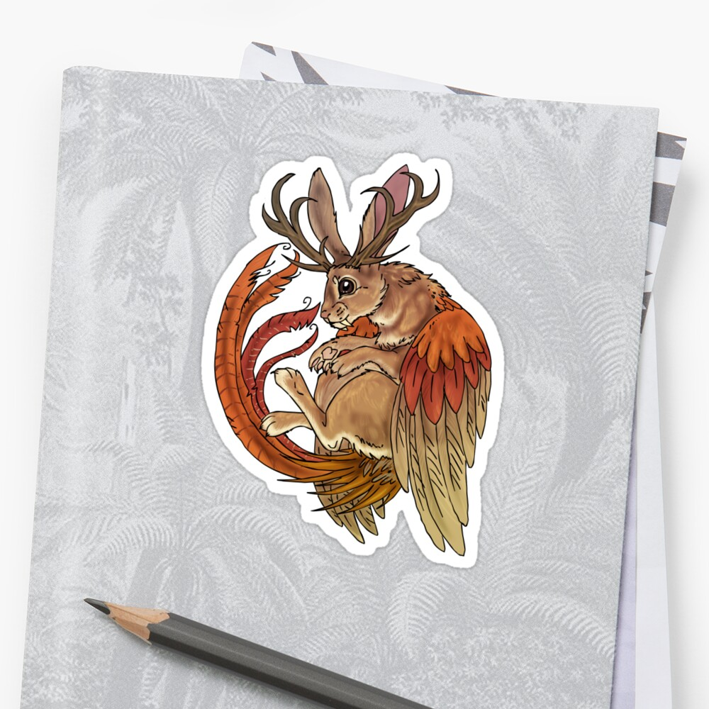 wolpertinger by placidplaguerat