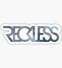 Reckless Sticker