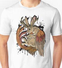 wolpertinger (black version) Unisex T-Shirt