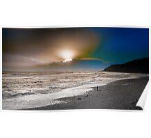 Sunset , Lyme Bay West Poster