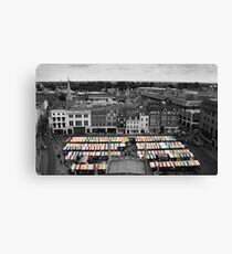 Strips and Stalls Canvas Print