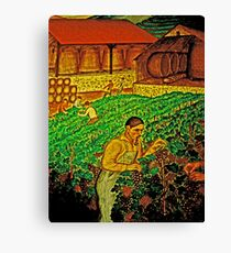 Quality Wine - Many Hands Canvas Print