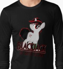 Blackjack is Best Pony T-shirt (from the Project Horizons fanfic) T-Shirt