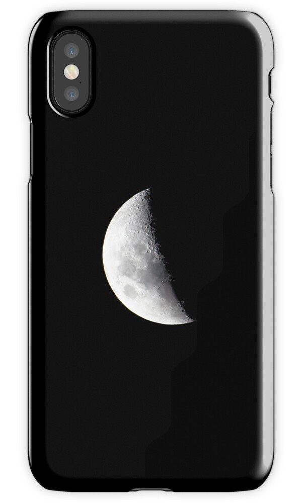 iphone half moon quot a half moon quot iphone cases amp covers by matthew hockley 11907