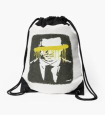 The Napoleon Of Crime Drawstring Bag