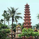 Tran Quoc Pagoda, Hanoi by Geoffrey Higges