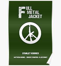 Full Metal Jacket (Alternative poster) Poster