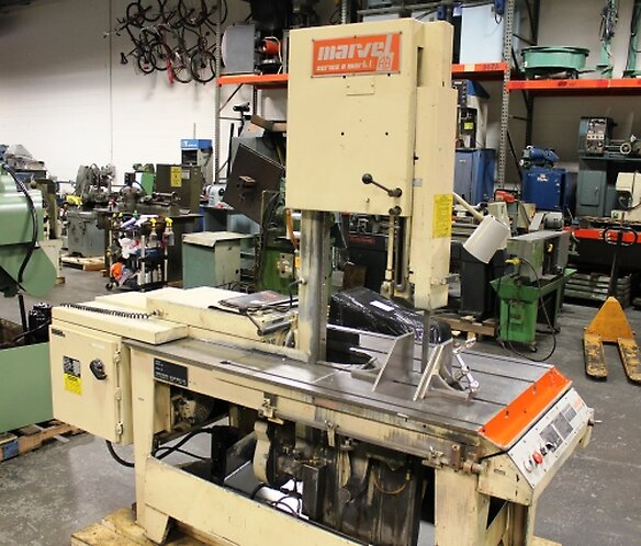 Himes Machinery - Vertical Saw Machine  by Himes Machinery