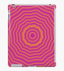 Psychedelic Seventies spider web iPad Case/Skin