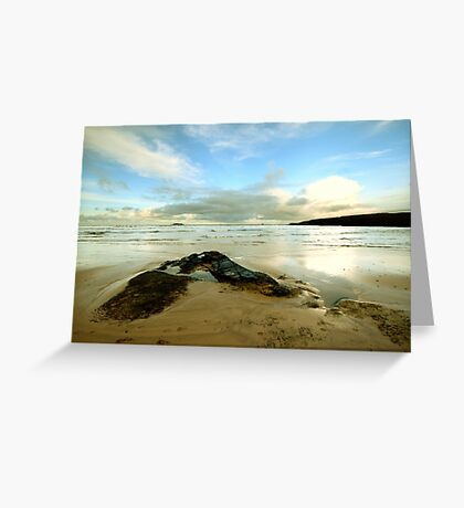 Harlyn Bay - Cornwall Greeting Card