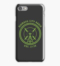 DIAMOND CITY RADIO iPhone Case/Skin