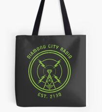 DIAMOND CITY RADIO Tote Bag