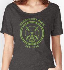 DIAMOND CITY RADIO Women's Relaxed Fit T-Shirt